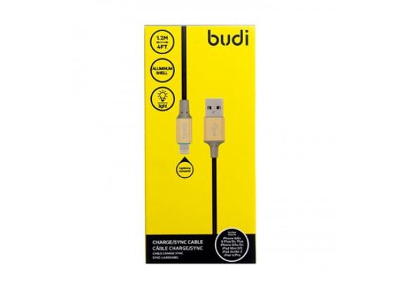 Дата-кабель Budi 012mini/1,2м/черн