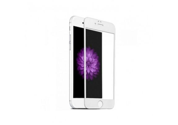 Защитное стекло iPhone 6D WHITE
