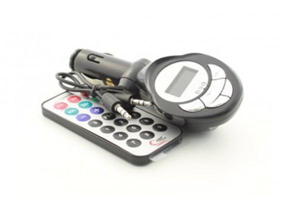 Трансмиттер KD-205 серебро (microSD/ USB