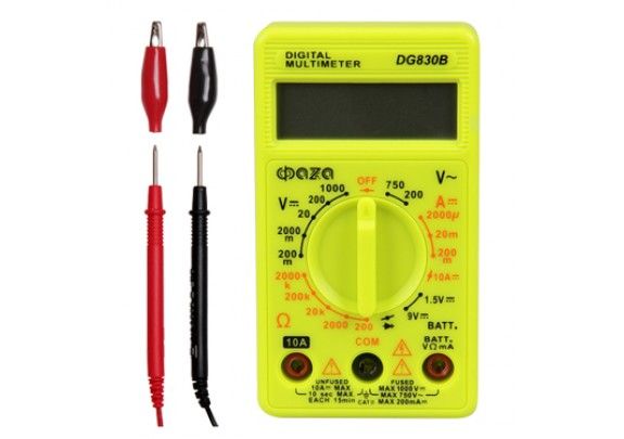 Мультиметр ФАZА цифровой DG830B