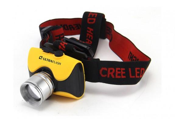Фонарь Ultra Flash LED E157 нал,CREE 3W,аккум.бокс