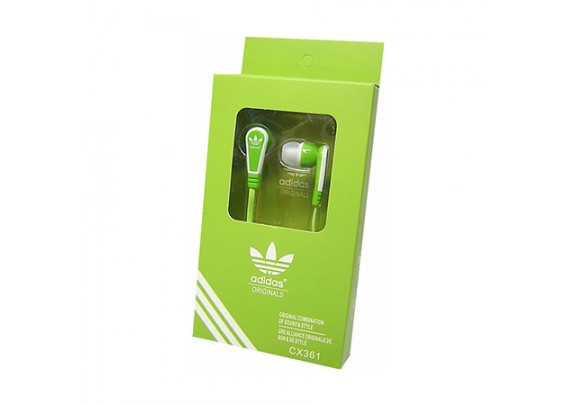 Наушники AD-009 green
