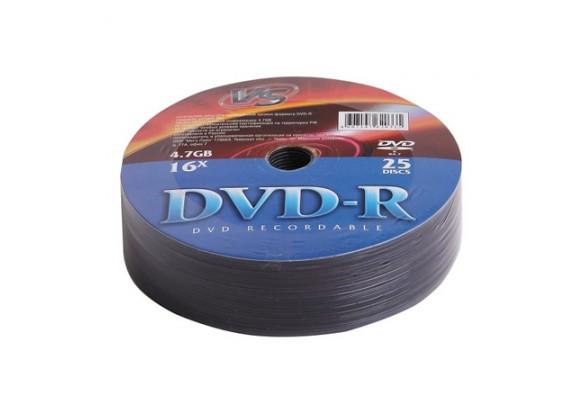 диск DVD+R Intro 4.7 Gb/16х/Shrink/25шт
