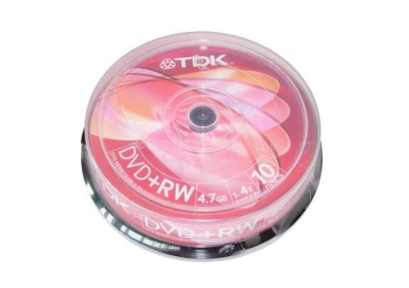 диск DVD+RW VS 4.7Gb/4x/Cake/25шт