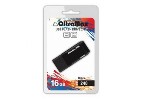 Флэш-драйв 16GB OltraMax 240 черный