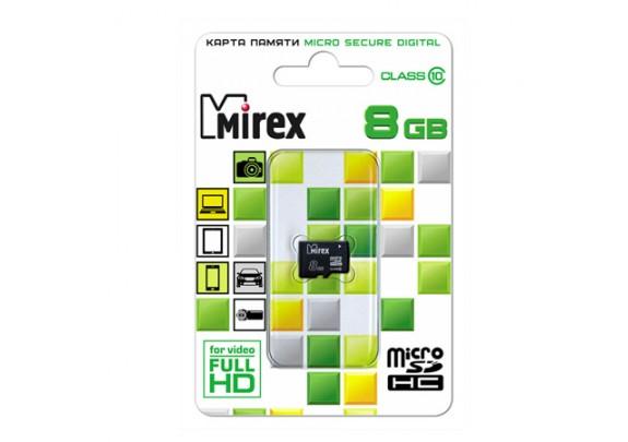 Карта памяти SDmicro 8Gb CL10ад Mirex