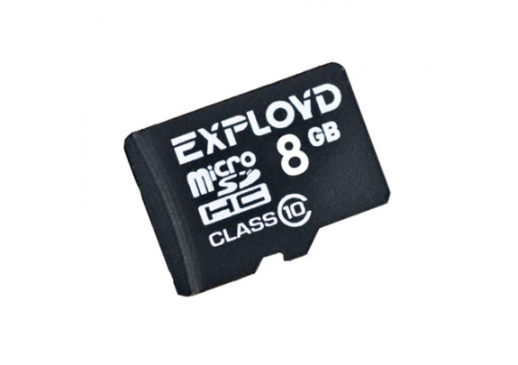 Карта памяти SDmicro 8Gb CL4 Exployd