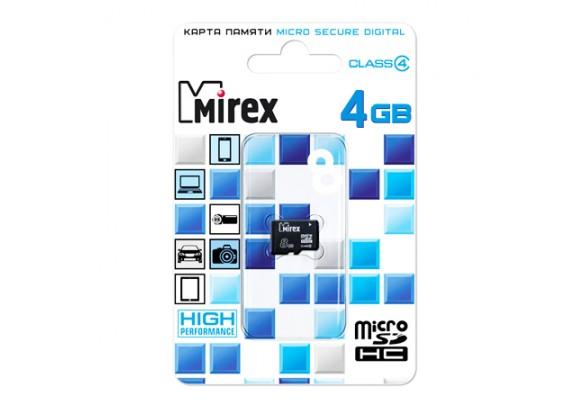 Карта памяти SDmicro 8Gb CL4 Mirex