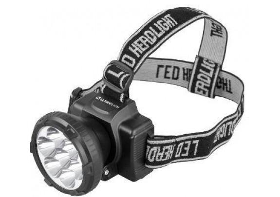 Фонарь Ultra Flash LED5362(налоб,7LED,акку,220В)/5