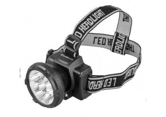 Фонарь Ultra Flash LED5363(налоб,9LED,акку,220В)/5