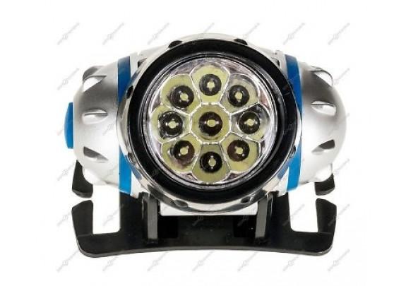 Фонарь Ultra Flash LED5371 нал,10LED, 3 акк.R6 /5