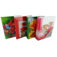 фотоальбом Supper 200 фото  PP46200-3 Цветы/пласти