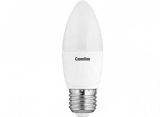 Лампа Camelion C35/830/E27 LED-7W 3000K 60Вт