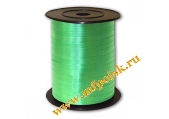 Лента Декоративная 5мм*500м  зеленая