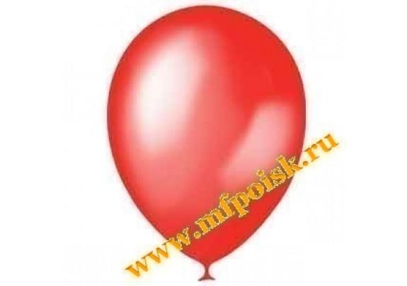 Шар 13см Металлик/CHERRY RED/100 шт.