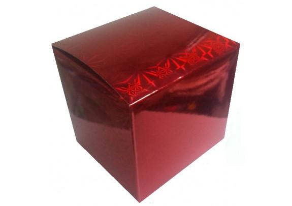 Коробка д/кружки/Красная-2/WM034