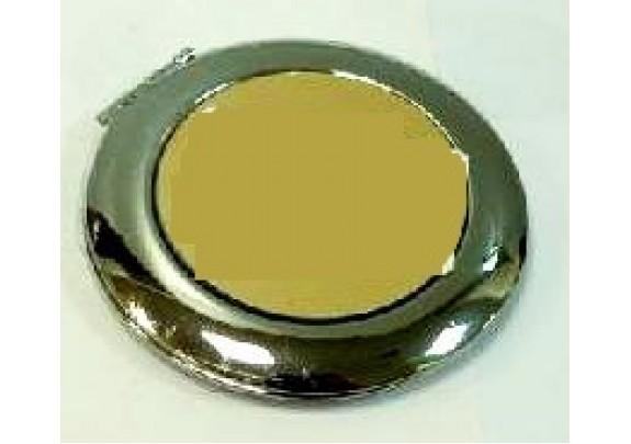 Зеркало НТ011 металл/овал/8,5см