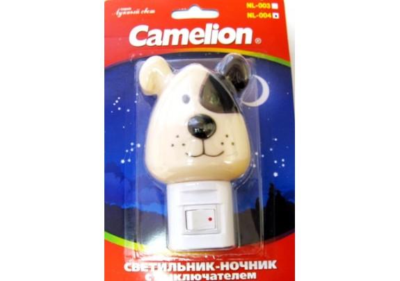 Ночник CAMELION NL-004 (Собака, 7W, 220)