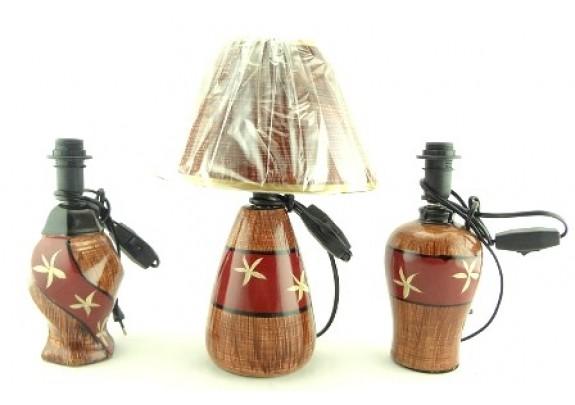 Лампа настольная YFA13197ABC Роспись/керамик/50см