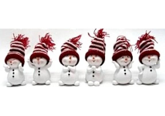 Фигурка NX26221 Снеговик 4,5*4*7см