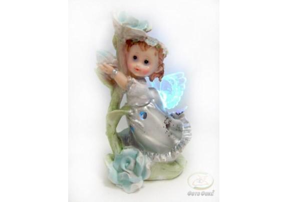 Фигурка  28392G Ангел светящ.