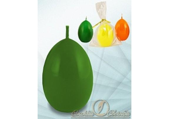 Свеча 100305  Яйцо/зеленое