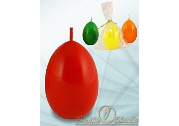 Свеча 100318  Яйцо/оранжевое
