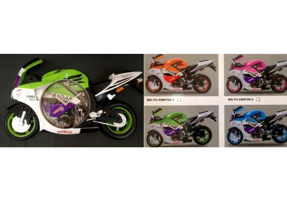 Часы 700K  Мотоцикл/47*30см