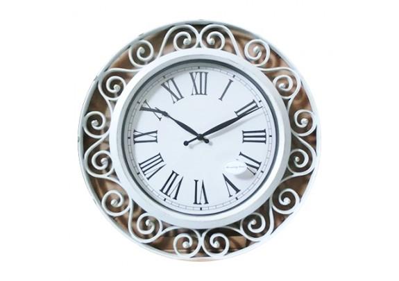 Часы 8719A пластик/51см