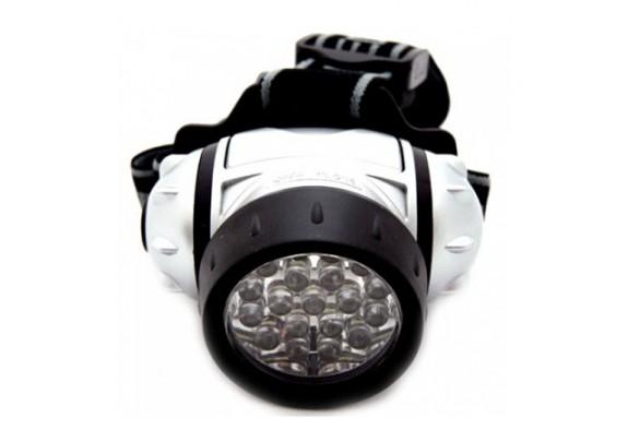Фонарь Ultra Flash LED5353(налоб, 19LED, 3xAAA)