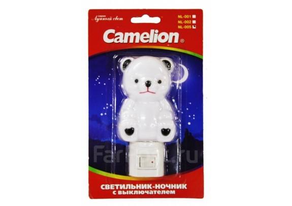 Ночник CAMELION NL-005 (Мишка, 7W, 220)
