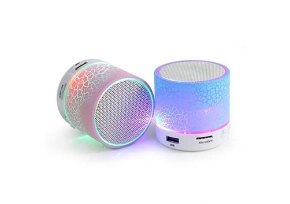 Аккустическая система S10 LED Bluetooth/microSD/бе