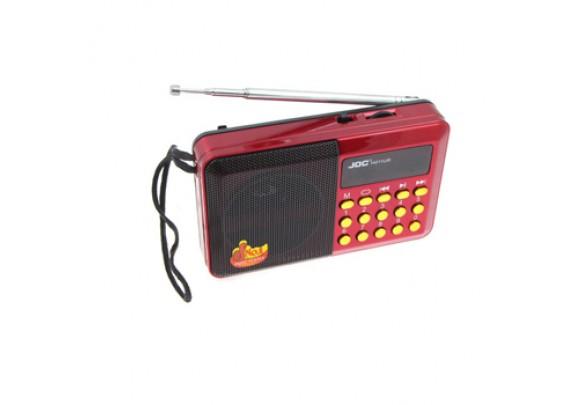 Радиоприемник JDC H011U USB/SD/SDmicro/FM