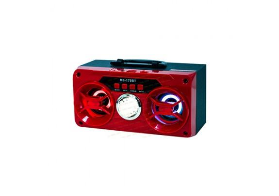 Аккустическая система MS-179BT USB/TF/AUX/FM Radio