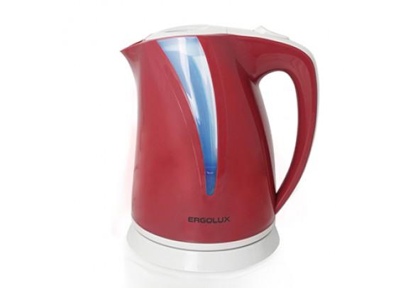 Чайник ERGOLUX ELX-KP03-C73 виш.пласт. 2,0л 2300W