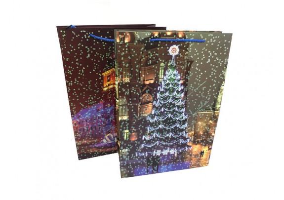 Пакет 10388-5 Новый год/картон/44*30*12